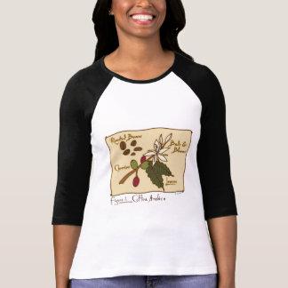 Arabica del Coffea Camiseta