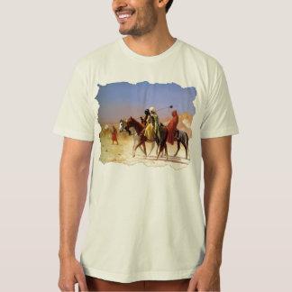 """Arabs Crossing The Desert"", by Jean Leon Gerome T-Shirt"