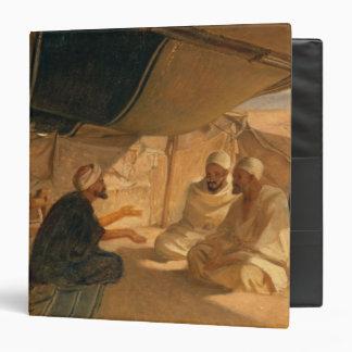 Arabs in the Desert, 1871 Binder