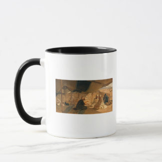 Arabs in the Desert, 1871 Mug