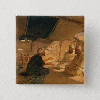 Arabs in the Desert, 1871 Pinback Button