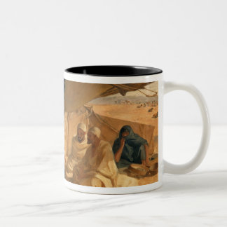 Arabs in the Desert, 1871 Two-Tone Coffee Mug