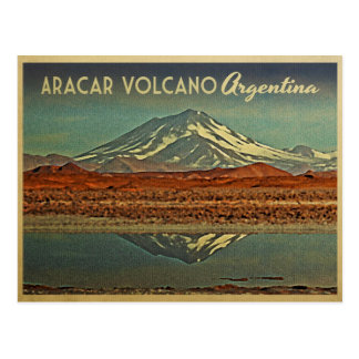Aracar Volcano Argentina Postcards