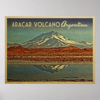 Aracar Volcano Argentina Posters