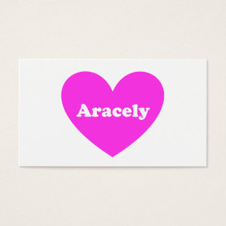 Aracely Business Card