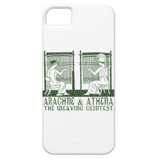 Arachne vs Athena iPhone 5 Cover