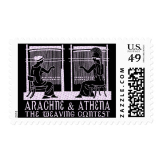 Arachne vs. Athena Stamps