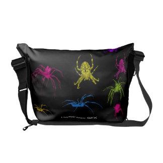 Arachnid messenger bag