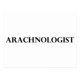 Arachnologist Postcard