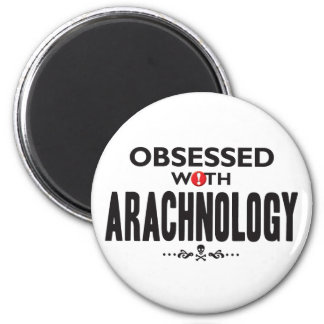 Arachnology Obsessed 2 Inch Round Magnet
