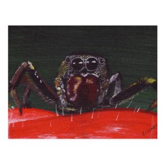"""Arachnophobia"" Postcard"