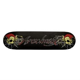 arácnido logotipo patineta personalizada