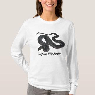 Arafura File Snake Ladies Long Sleeve T-Shirt