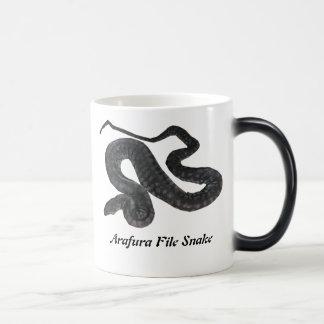 Arafura File Snake Morphing Mug