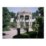 Aragah e Hafez, tumba de un poeta importante que m Tarjetas Postales