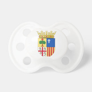 Aragon Coat of Arms (Spain) Baby Pacifiers