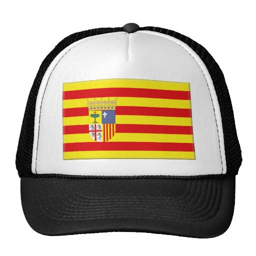 Aragon (Spain) Flag Trucker Hat