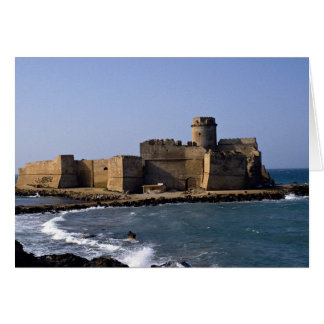 Aragonese Castle, Calabria, Italy Greeting Cards
