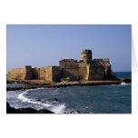 Aragonese Castle, Calabria, Italy Greeting Card