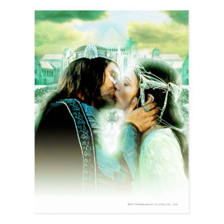 Aragorn and ARWEN™ Kiss Postcard