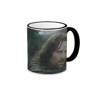 Aragorn and Ringwraiths Coffee Mug