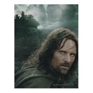 Aragorn and Ringwraiths Postcard