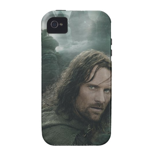 Aragorn and Ringwraiths Vibe iPhone 4 Case