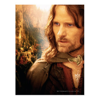 Aragorn and Rivendell Composition Postcard
