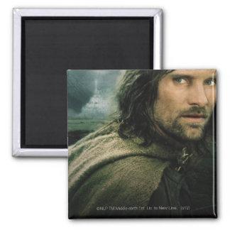 Aragorn Close Up Magnet