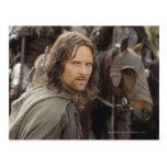 Aragorn con el caballo postal
