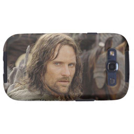 Aragorn con el caballo samsung galaxy s3 carcasa