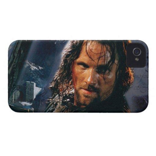 Aragorn con el ejército funda para iPhone 4