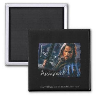 Aragorn con el ejército imán cuadrado