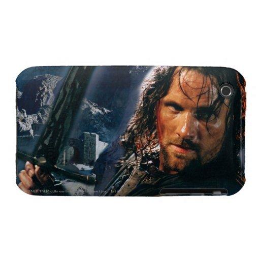 Aragorn con el ejército iPhone 3 cobreturas