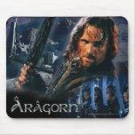 Aragorn con el ejército mousepad