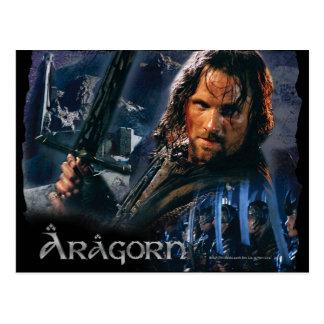 Aragorn con el ejército postales