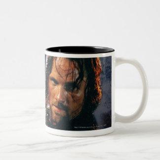Aragorn con el ejército taza