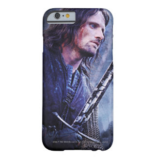 Aragorn con sangre funda para iPhone 6 barely there