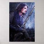 Aragorn con sangre póster