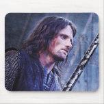 Aragorn con sangre tapete de ratón