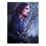 Aragorn con sangre tarjetas postales