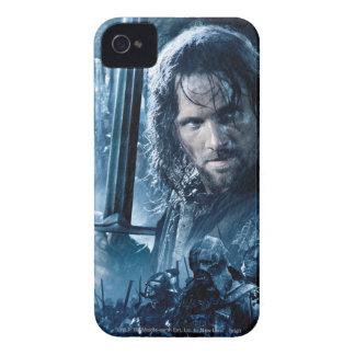 Aragorn contra Orcs Case-Mate iPhone 4 Carcasa
