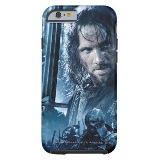 Aragorn contra Orcs Funda Para iPhone 6 Tough