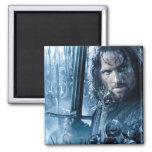 Aragorn contra Orcs Imán Cuadrado