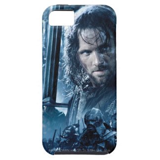 Aragorn contra Orcs iPhone 5 Fundas