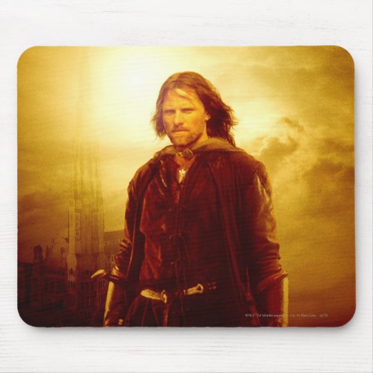Aragorn Glowing Mouse Pad