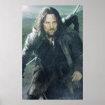 Aragorn intenso póster