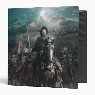Aragorn Leading on Horse 3 Ring Binders