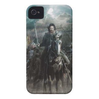 Aragorn Leading on Horse iPhone 4 Case-Mate Case