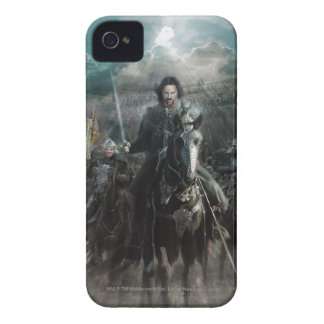 Aragorn Leading on Horse iPhone 4 Cover